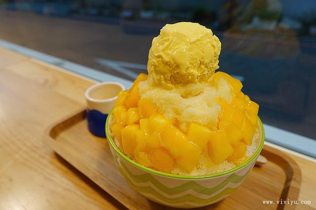 刨冰,日式刨冰,桃園,美食,芒果冰,長腿實驗室 @VIVIYU小世界
