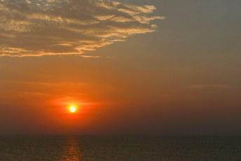 Wederom een zonsondergang in Cartagena.