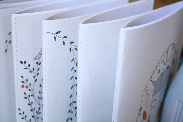 detail stitch notebooks