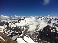 Ausblick vom Gipfel der Rötspitze 3.495 m