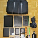 What's in my bag - as minimalistic as I can