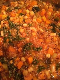 quinoa and kale minestrone