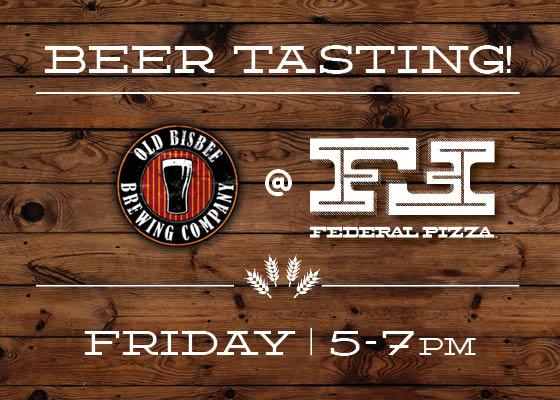 Blog - Bisbee Brewing at Federal 1.30.14