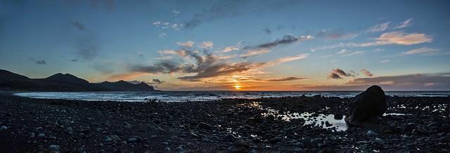 Aberdesach Sunset Panorama