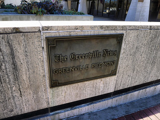 Greenville News Sign