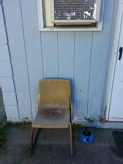 Chair and Teapot by the Back Door