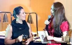 G Toengi joins the Oktoberfest 2013 launch at Sofitel Manila
