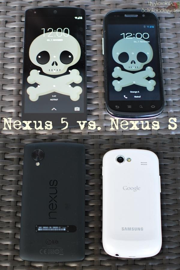 LG Nexus 5 | Samsung Nexus S