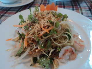 salad in Hoi An's Mermaid Restaurant