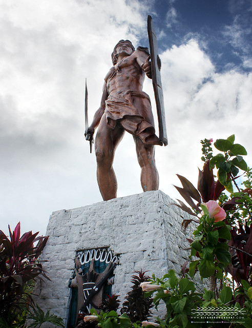 Lapu-lapu statue mactan island cebu shrine