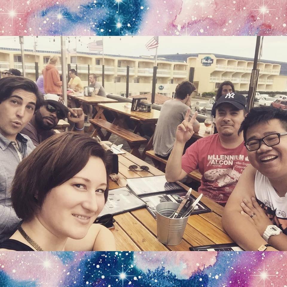 SDCC 2015 crew