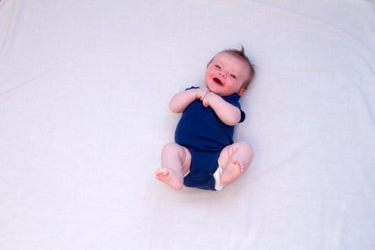 three months old