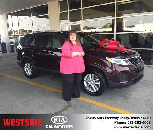 Thank you to Sandra  Conolly on your new 2014 Kia Sorento from Damon  Clayton  and everyone at Westside Kia! by Westside KIA