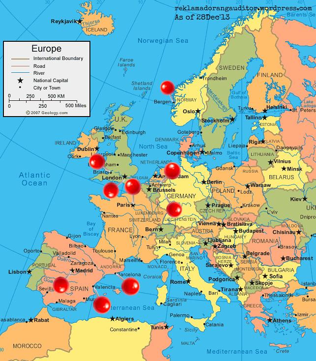 europe-map 28Dec13