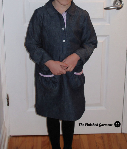Another Indigo Linen Dress