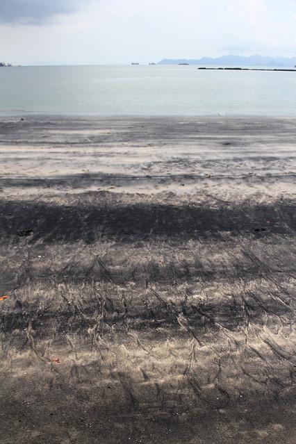 Black sand beach - Langkawi