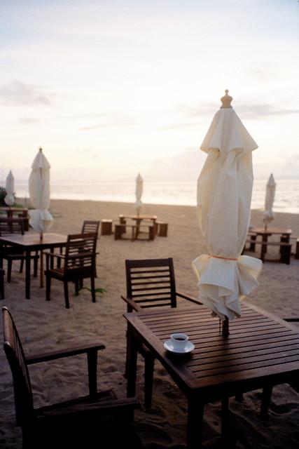 小濱島沙灘日出咖啡