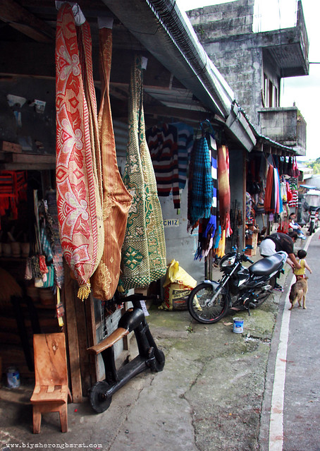 Souvenir shops Main View Point Banaue Ifugao