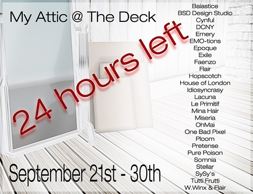 My Attic 24 Hours Left