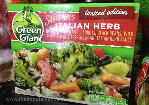 Green Giant Limited Edition Italian Herb Steamers