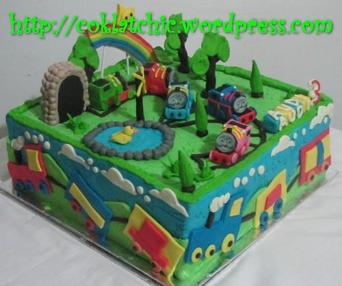 Cake Thomas the Tank Engine