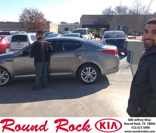 Congratulations to Luis  Mejia on your #Kia #Optima purchase from Jorge Benavides at Round Rock Kia! #NewCar by RoundRockKia