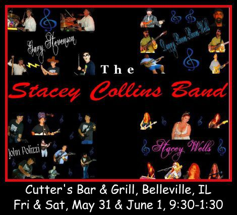 Stacey Collins Band 5-31, 6-1-13