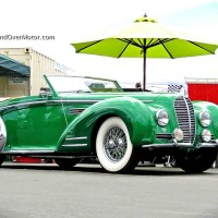 2013 Monterey Motorsports Reunion: 1948 Delahaye 135MS Chapron Cabriolet and Bugatti Type 37