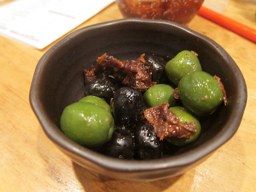 Dried Tomatoes and Olives