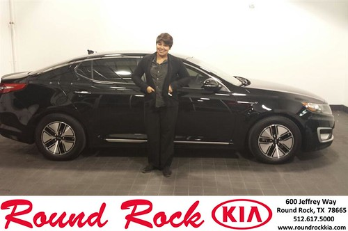 Thank you to Jessamyn Rodriguez on your new 2012 #Kia #Optima from Roberto Nieto and everyone at Round Rock Kia! #NewCarSmell by RoundRockKia