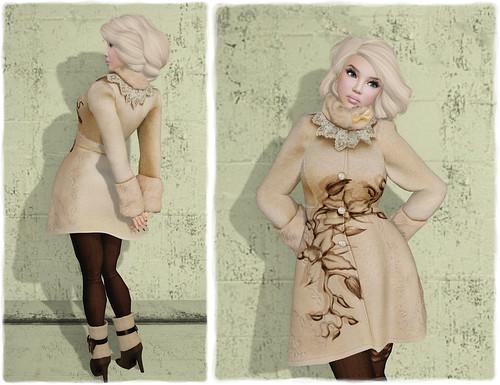 Glitterati by Sapphire - Arctic Winter Outfit by Tigist Sapphire