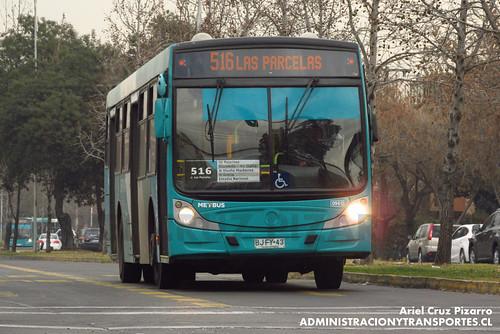 Transantiago - Metbus - Caio Mondego H / Mercedes Benz (BJFY43)