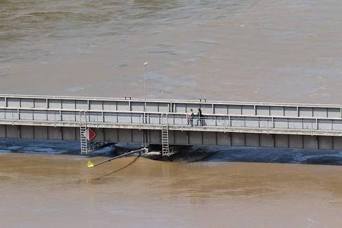 Flooded Labe river, June 5th 2013, Mělník