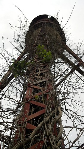 old tower in arkansas