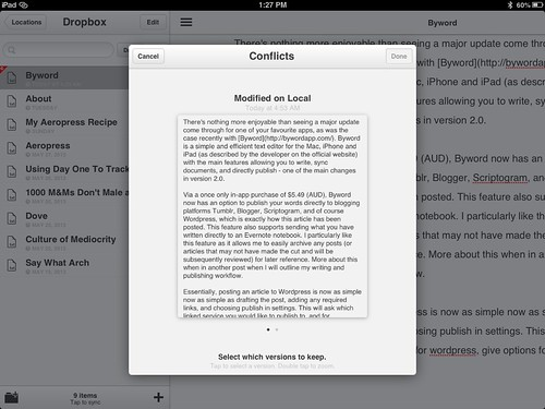 Byword Screenshots