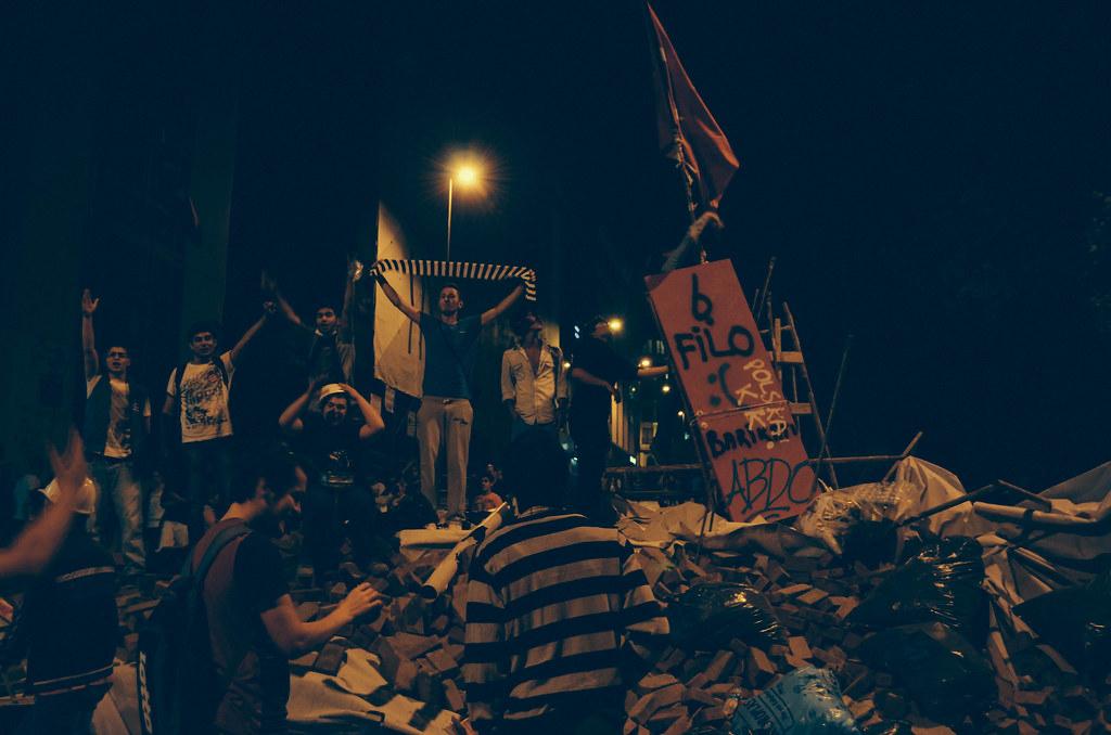 Blockade Chanting