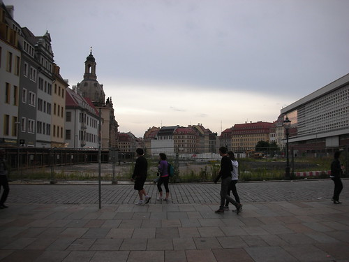 Empty Plot in Dresden