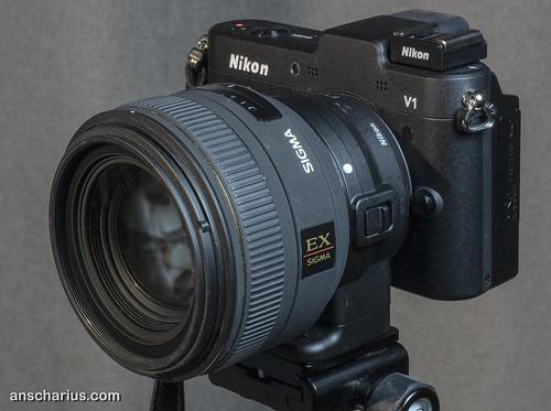 Nikon 1 V1 & FT1 & Sigma EX DC 1.4/35mm