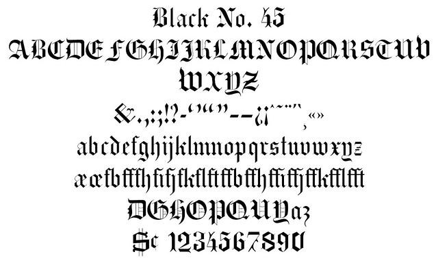 Black No. 45
