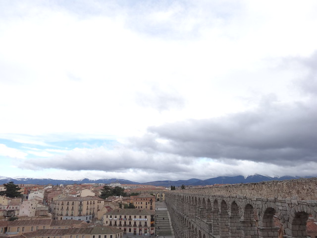 Aqueduct and Guadarrama