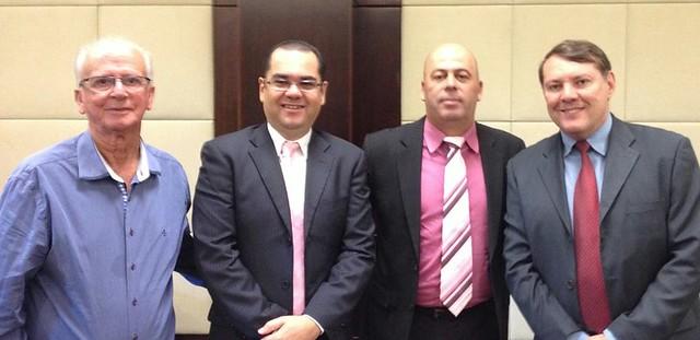 Trovão, Geraldo Leão, Carlos Corindon e Luigi