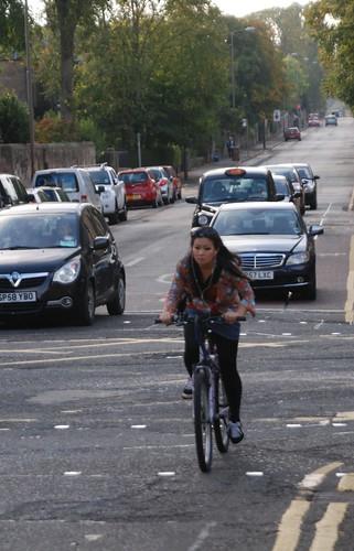 Edinburgh wants to be a cycling city?