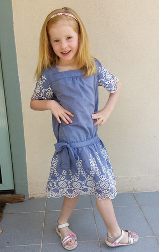 Oliver + S Croquet Dress size 6 for Stella
