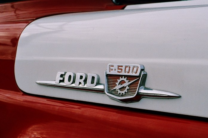 Ford F-500 fire truck