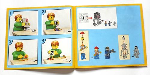LEGO The Movie 70807 MetalBeard's Duel ins02