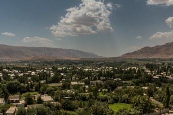 Het fort waakte over deze vallei, ongeveer 35 kilometer strroomafwaarts ligt de grens met Afghanistan.