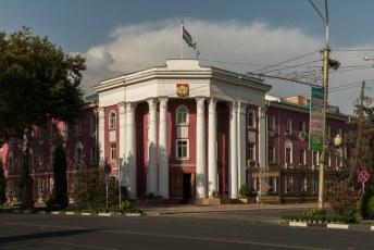 Het stadskantoor, van Doesjanbe.