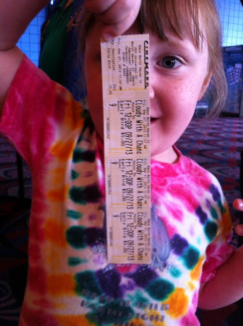 tickets for Cloudy With A Chance Of Meatballs 2