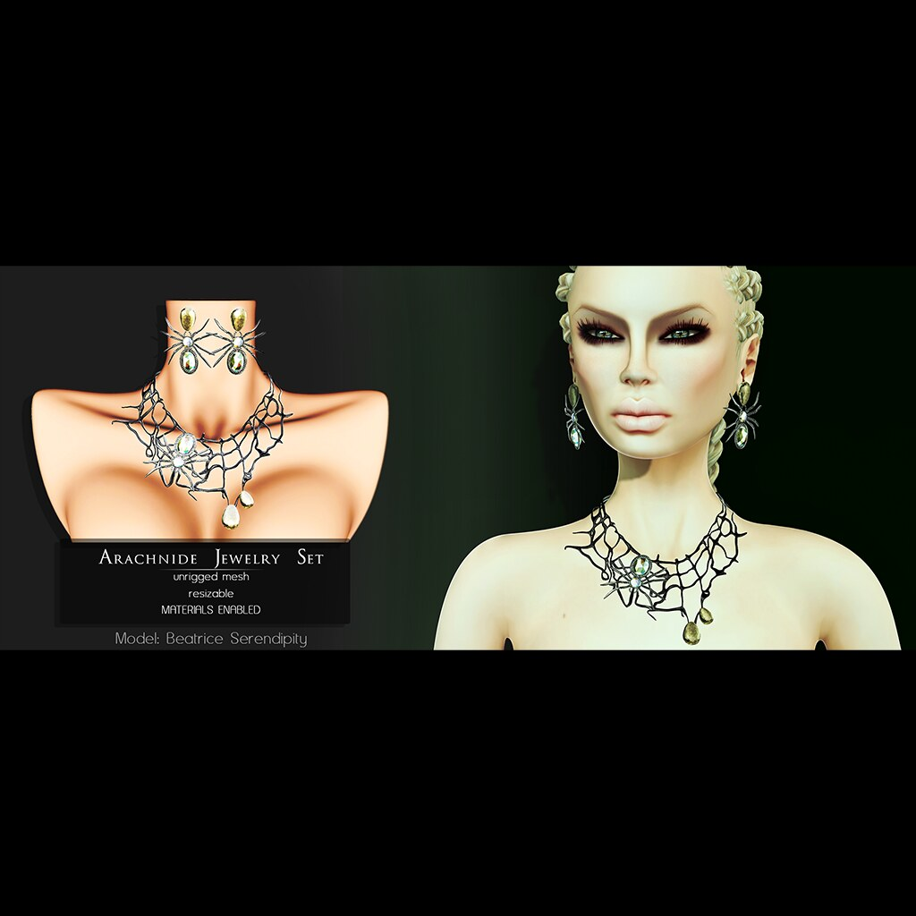 Pure Poison - Arachnide Jewelry Set