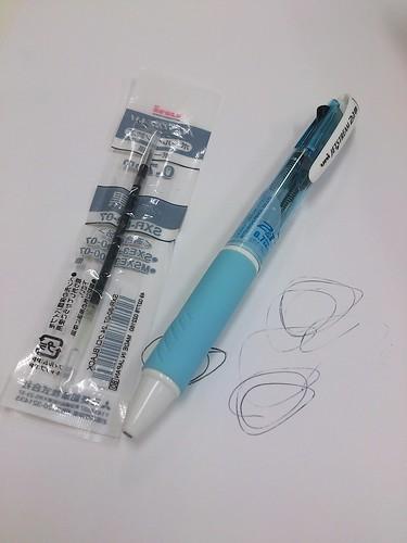 ボールペンの芯を入れ替えるなどしてみた。